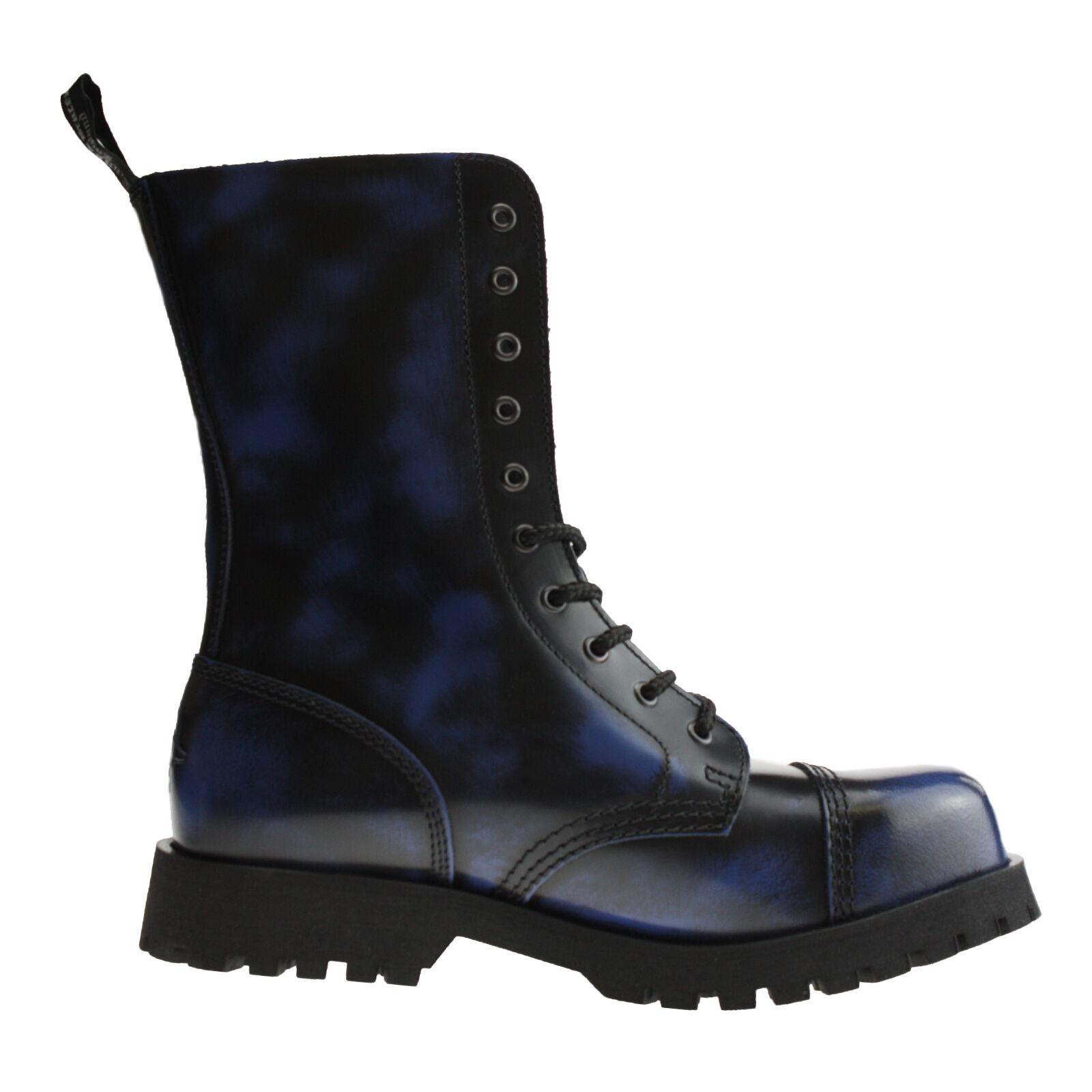 botas botas botas & Braces - 10-agujero azul rubb-Off 783735