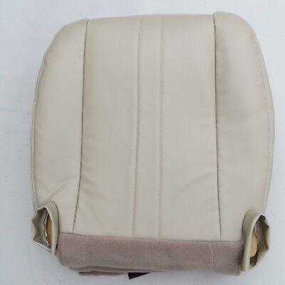 02-14 GMC Savana VAN 1500-2500,3500,V8 GAS LT Driver Bottom Vinyl seat cover TAN