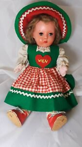 German-or-Austrian-Doll-Melitta-Wien-Circa-1950-039-s-12-034-Tall