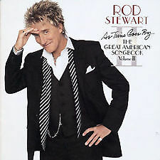 1 of 1 - ROD STEWART - As Time Goes By... The Great American Songbook, Volume II CD *NEW*