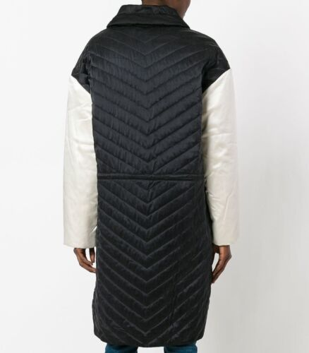 Quilt Chevron Isabel 40 Size Silk 12 New Marant JacketBlack Uk 1FlcKJ
