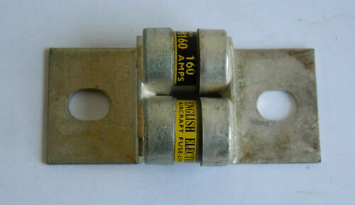 "Ex RAF English Electric Aircraft Fuse Lock Type: /""UAM/"" 160 Amp 1R3D"