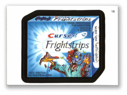 MINT! WACKY PACKAGES SERIES #3 CURSED FRIGHT STRIPS