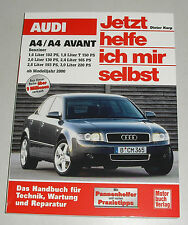 Reparaturanleitung Audi A4 + Avant Typ B6 Benziner, Baujahre 2000-2004