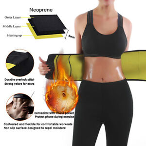 Bauchweggürtel Neopren Gürtel Bauchweg Abnehmen Schwitzgürtel Schlankgürtel unis