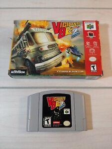 N64-Nintendo-64-V82-Vigilante-8-2nd-Offense-Original-Box-and-Game-Tested-Working