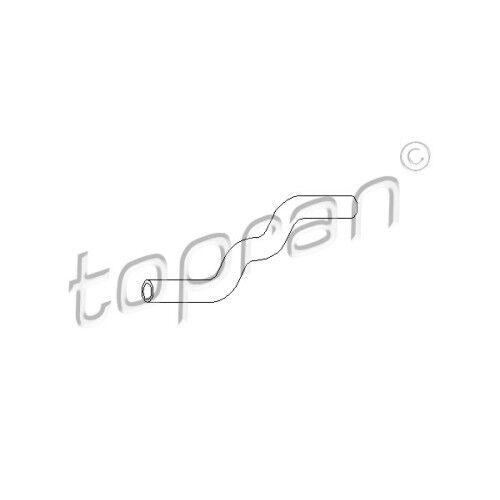 ORIGINALE Topran Radiatore Tubo Acqua di Raffreddamento Tubo VW