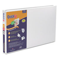 Stride Quickfit Ledger D-ring View Binder 1 Capacity 11 X 17 White 94010 on sale