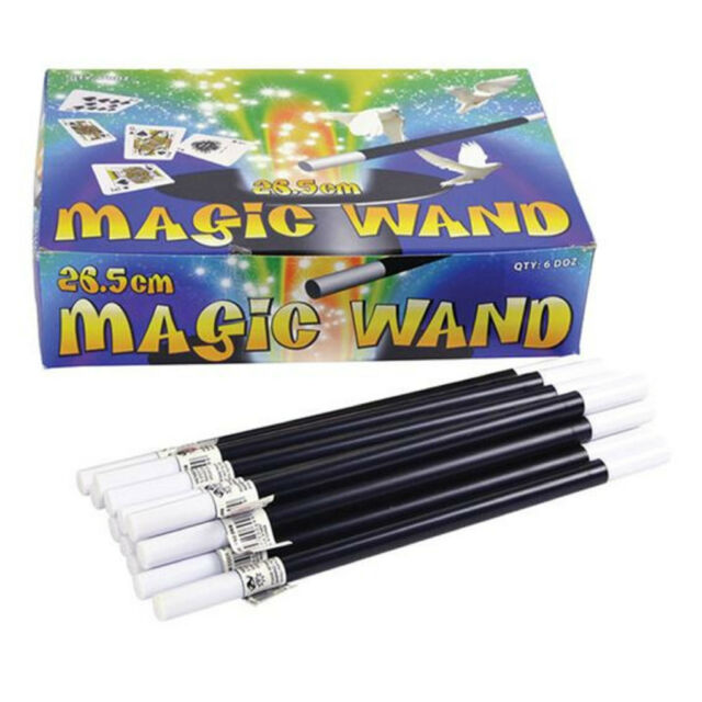 Wizard Magic Toy 26.5cm Joke Magicians Wand Fancy Dress Party Accessory MC032