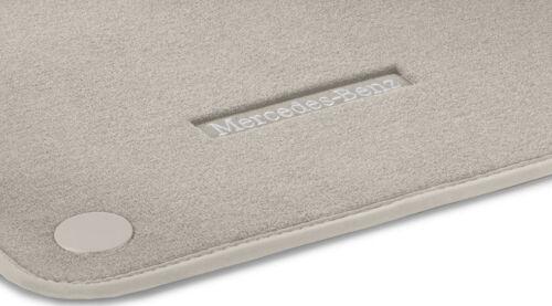 MERCEDES BENZ ORIGINALE Velluto Tappetini Beige c257 cls coupe RHD 03//2018 NUOVO