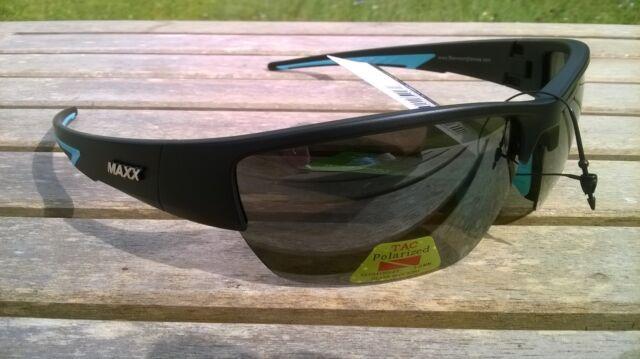 9be938bf7dd3 Maxx HD Sunglasses 7 black light blue smoke lens polarized fishing golf HDP  TR90