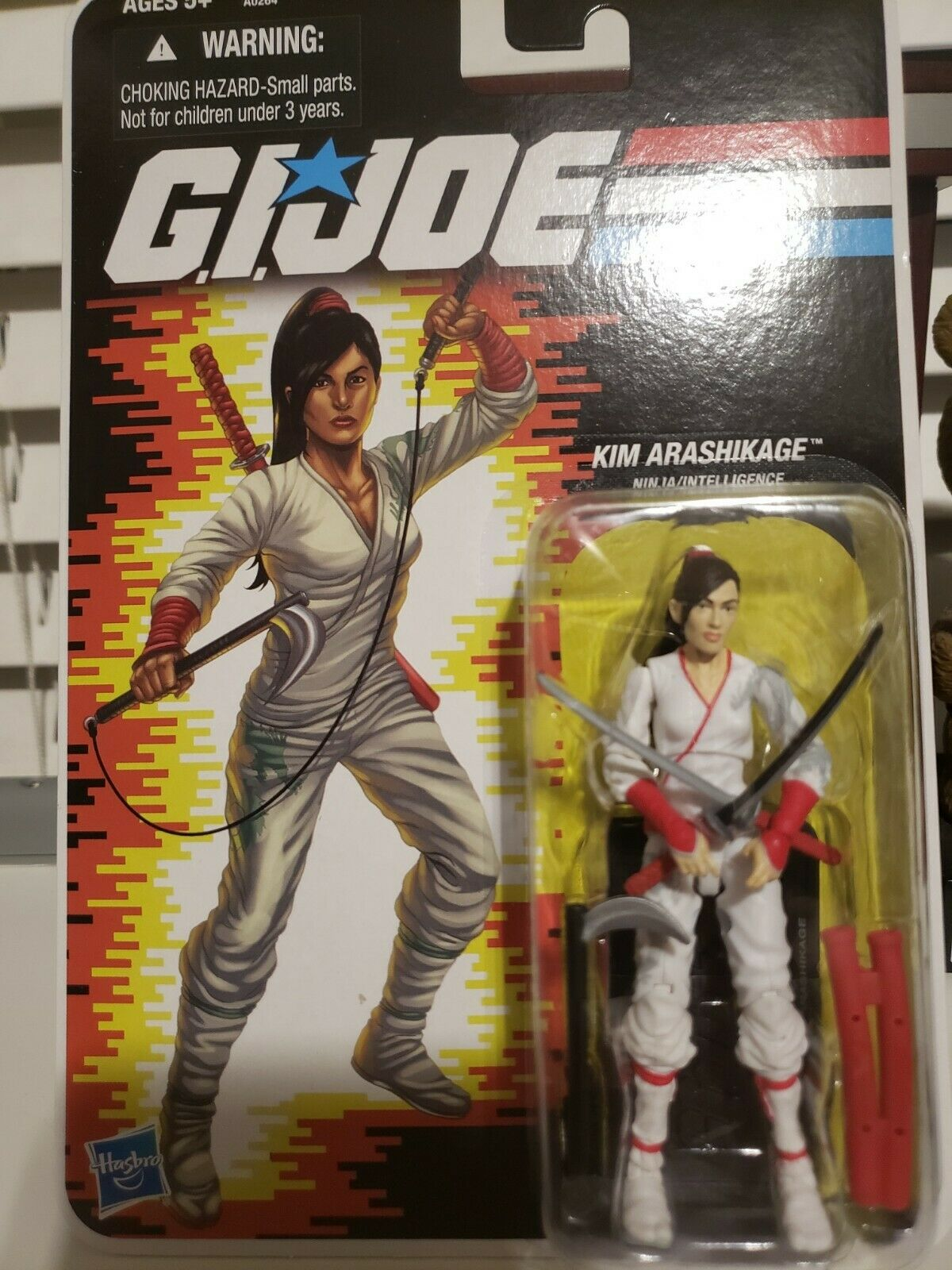 GI JOE Comic Con 2012 Jinx (Weiß) MOC Figure