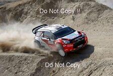 Petter Solberg Citroen DS3 WRC Argentine Rally 2011 Photograph