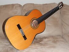 HAND MADE IN 1975 BY K. HASHIMOTO TERRIFIC VINTAGE CLASSICAL GUITAR MODEL C30