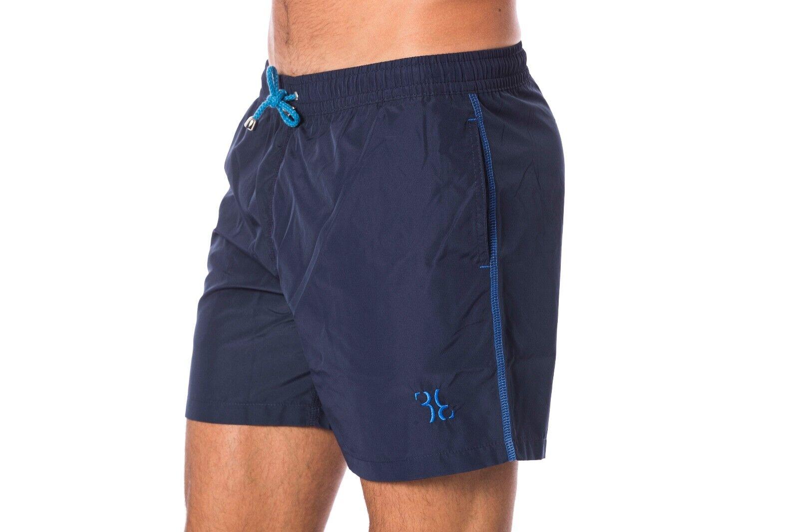 Billionaire Couture Men's Shorts Swimsuit bluee size  S,M,L,XL,XXL,3XL