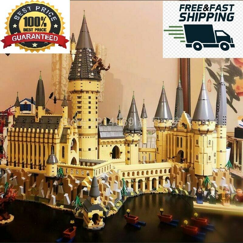 Harry Potter Magic Hogwarts Castel School 6742Pcs Building Blocks Brick Kids Toy