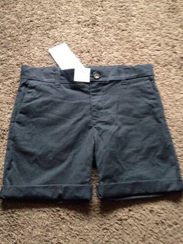 BNWT Boys M/&S Age 5-6 Years Shorts Black Shorts With Flexi Waistband