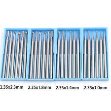 6pcs Tungsten Steel Drill Set Pcb Cnc Micro Drill Bits Milling 332 Shank