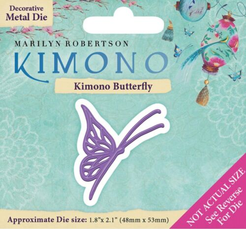 Kimono Butterfly MRK-MD-KIBUT Steel Die-cutting Die KIMONO NEW