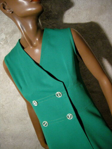 Vintage Abito Vtg 1970 Chic Dress 70er Robe Retro 70s 36 Seventies Kleid dfBz6qzx