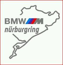 Pegatina Adhesivo Sticker BMW M CIRCUITO NURBURGRING 14 cms Sticker Aufkleber Au