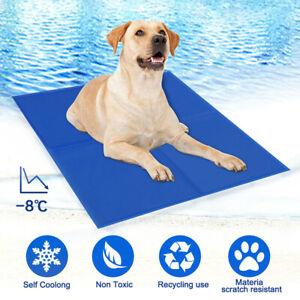 Dog-Cat-Self-Cooling-Gel-Mat-Pet-Summer-Cool-Pillow-Hot-Weather-Large-Bed-Pads