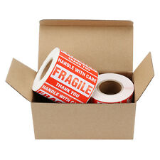 2 Rolls 500roll 2x3 Fragile Stickers Handle With Care Thank You Mailing Labels