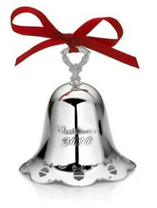 TOWLE-SILVERSMITHS-2010-Annual-CHRISTMAS-BELL-31st-Edition-5063074-NEW-in-Box