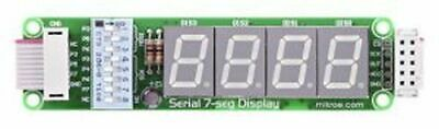 LED Serial 7-Segment Display 2 Board IDC10 SPI 2x4 Digits