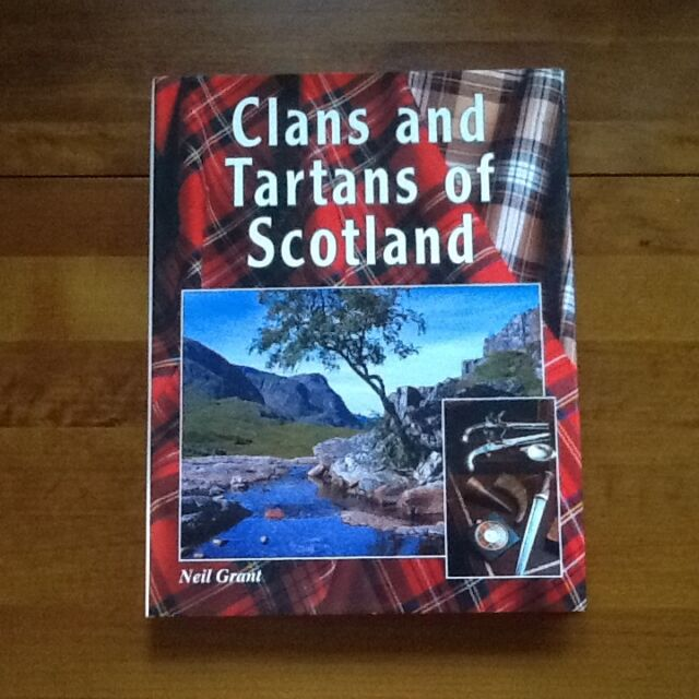Clans and Tartans of Scotland, Grant, Neil - Hardback Book - Excellent condition