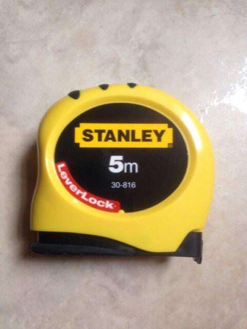 Stanley Bandmaß Leverlock 5m/19mm 1-30-816