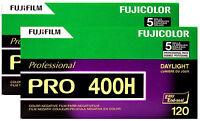 Fujifilm Fujicolor Professional Portrait PRO 400H - Color print film 120 (6 cm) ISO 400 5 rolls #2300418 Film