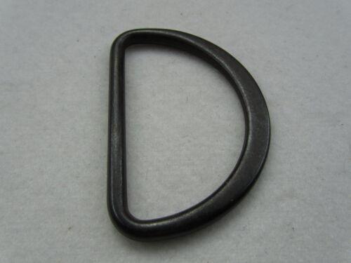 Acetal schwarz Inhalt je 10 Stück D-Ring Kunststoff