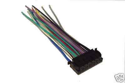 JVC Wiring Harness Car Stereo 13 pin Wire Connector   eBayeBay
