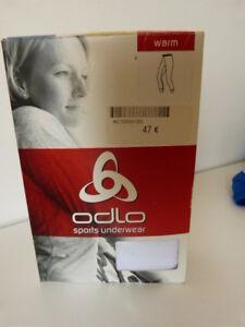 Sous Vétement Chaud Odlo Femme Xxs Couleur Blanc (cpnb1) Emballage Fort