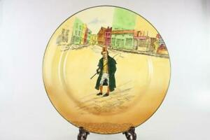 ROYAL-DOULTON-VINTAGE-039-BARKIS-039-DICKENS-WARE-WALL-PLATE