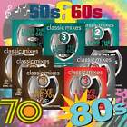 DMC I Love The 50's, 60's, 70's & 80's 9 CD Collection, Megamixes Remixes & More