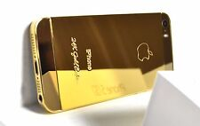 The Luxury 24k Gold Plated Apple iPhone 5s - 32GB (Factory Unlocked)