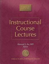 Instructional Course Lecture: Spine