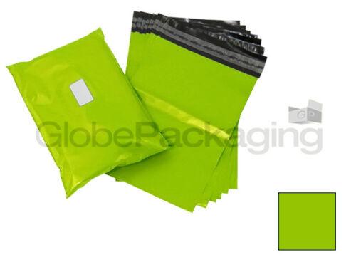 "500 x forte Neon Verde 12x16/"" mailing borse affrancatura postale 12/""x16/"" 305x406mm"