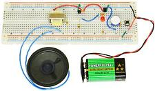 PK-101B BASIC 50 BREADBOARD ELECTRONIC EXPERIMENTS, PARTS, & 72 PAGE BOOK