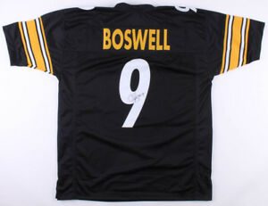 new arrival 93b90 ff750 Details about Chris Boswell Signed Pittsburgh Steelers Jersey (TSE COA)  2017 Pro Bowl Kicker