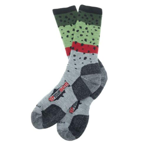 Rep Your Water Trout SocksRainbow Trout
