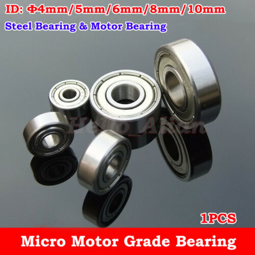 Cojinete de grado de Motor Rodamiento De Acero NMB Φ4//5//6//8//10mm Cojinete Modelo De Juguete Coche Robot