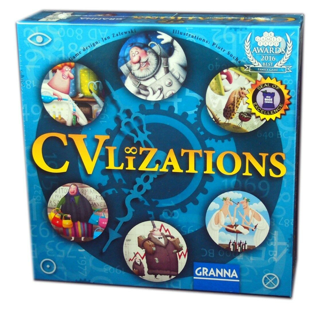 Granna, CVlizations Board Game, Game, Game, new and Sealed 49caef