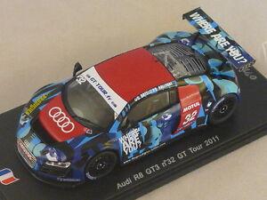 Spark Sf028 - Audi R8 Gt3 La Prodigies N ° 32 Gt Tour 2011 Hallyday Ortelli