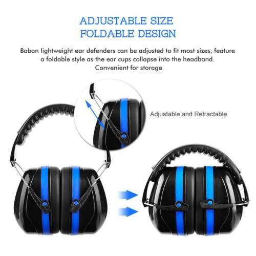 NEUF Casque Anti-Bruit Protection Oreille Bricolage Tir.. Anti-Noise Ear Prot