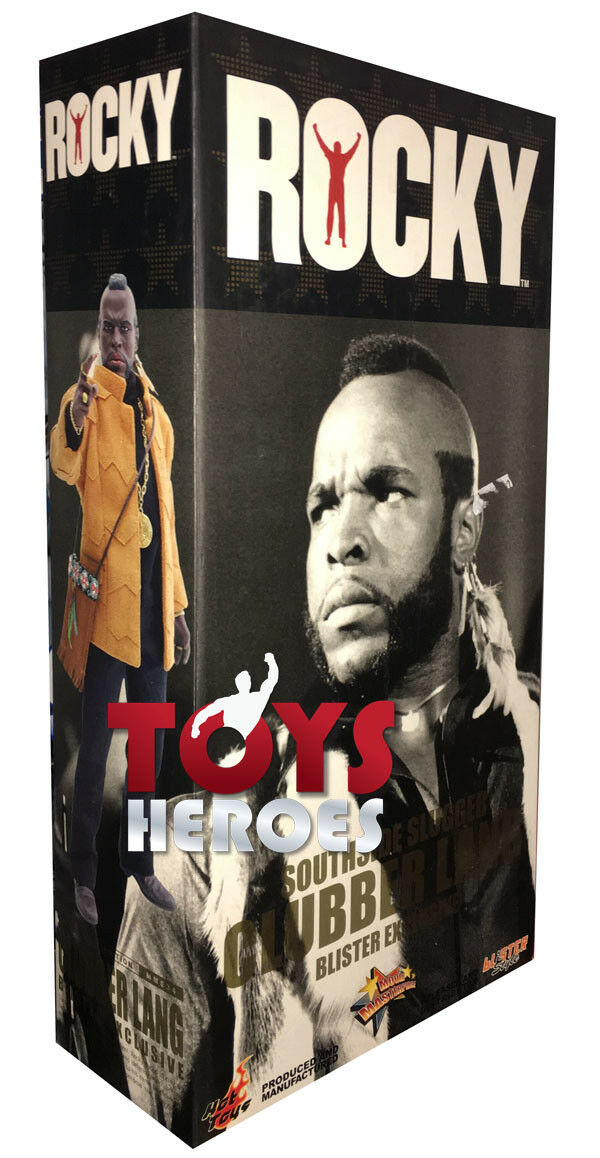 HOT TOYS ROCKY MR. T CLUBBER LANG STREET VERSION Ready to ship