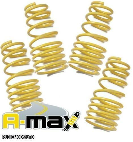A-MAX Audi A4 B6 B7 2001-2008 saloon 2.0T FWD 40mm Lowering Springs NOT AVANT