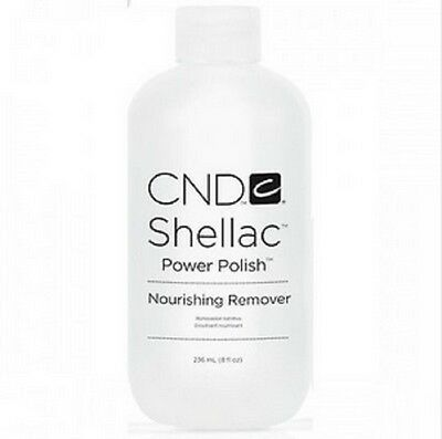 CND Shellac Nourishing Remover Remove all gels/acrylic 8oz/236mL ~6ct~